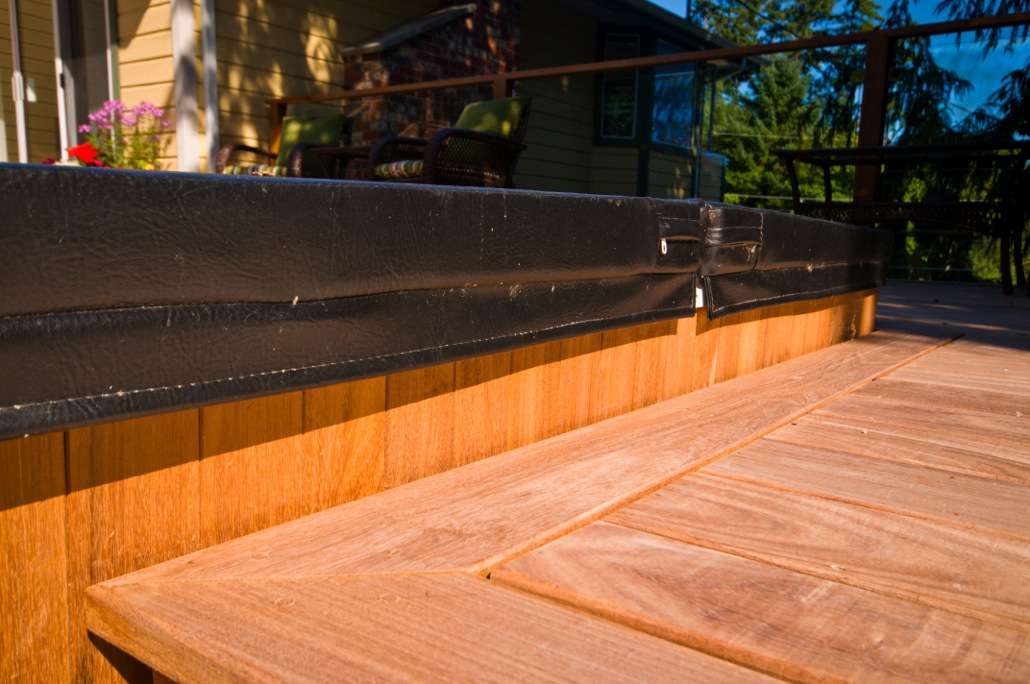 Victoria Custom Hardwood Deck