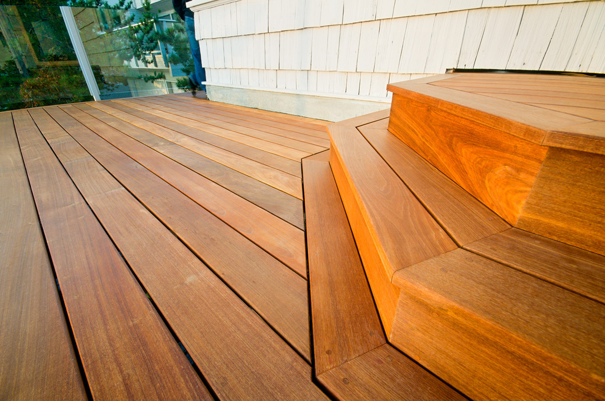 Victoria BC Custom Ipe Hardwood Deck